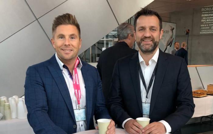 Kristoffer Glerup og Peter Rasmussen fra SACKit